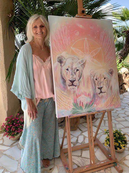 Art auction for Global White Lion Protection Trust