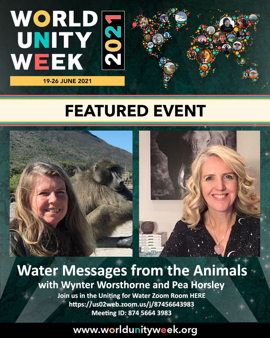 Featured Event - Water Messages from Animals