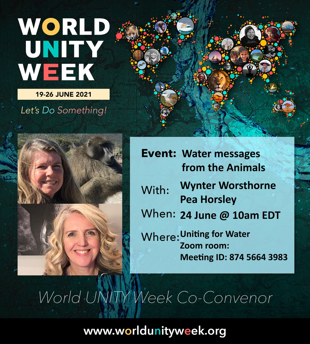 Water Messages from Animals - World unity week
